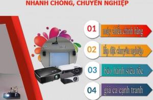 Thi Công Lắp Đặt Máy Chiếu Giá Rẻ Hà Nội Nhanh Chóng, Chuyên Nghiệp