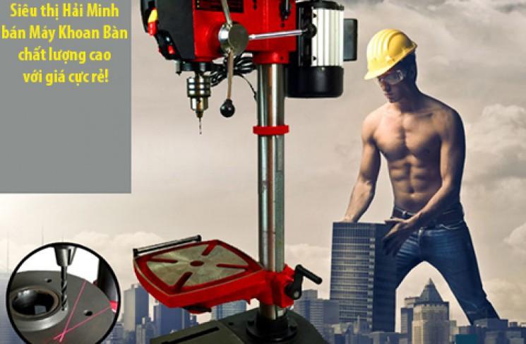 Nên mua máy khoan bàn công nghiệp nào cho xưởng cơ khí?
