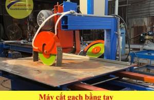 Máy cắt gạch bằng tay, sử dụng sao cho an toàn, hiệu quả?