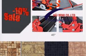 Máy cắt gạch cầm tay loại nào tốt, có thể cắt góc 45 độ?