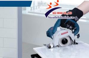 Máy cắt gạch cầm tay Bosch giá ưu đãi, chỉ có tại Hải Minh
