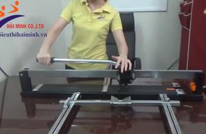 Cách dùng máy cắt gạch cầm tay an toàn và hiệu quả với 3 bước đơn giản