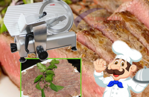 Cách chọn mua máy thái thịt bò chín chất lượng
