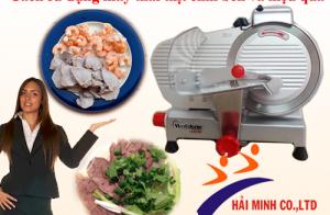 Cách sử dụng máy thái thịt chín bền và hiệu quả