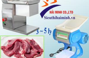 Cần thái thịt có độ dày 3 đến 5 ly nên dùng máy thái thịt nào?