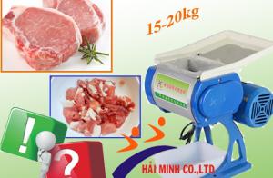 Dòng máy thái thịt nào có khả năng thái 15kg đến 20kg 1 ngày?