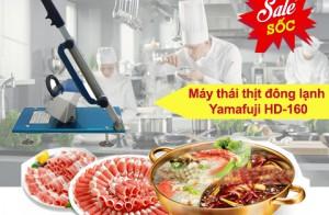 Vì sao máy thái thịt đông lạnh Yamafuji HD-160được nhiều nhà hàng lựa chọn?