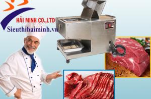 Những điều cần biết khi mua máy thái thịt bò