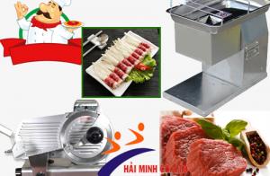 Những dòng máy thái thịt được làm từ inox đảm bảo an toàn