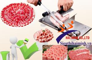 Những ưu điểm nổi bật của máy thái thịt bằng tay