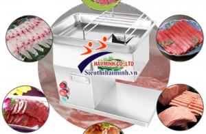 Máy thái thịt bò SJ09 cho quán phở với lát thịt siêu mỏng chỉ 2mm