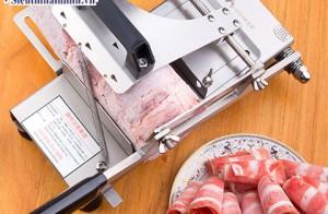5 bước sử dụng máy thái thịt sống đúng cách