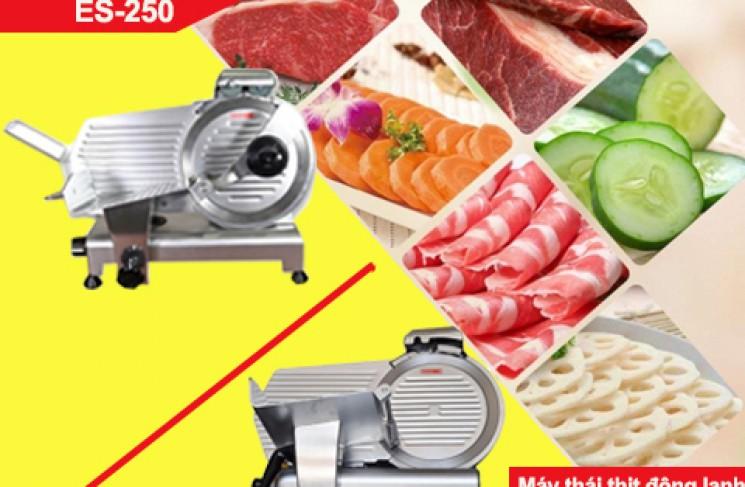 So sánh máy thái thịt ES-250 và ES-300. Nên mua loại nào?