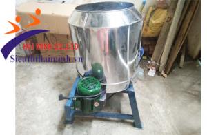 Sử dụng máy nghiền bột HM 2200A để vắt nghệ tươi