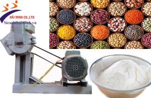 Phân loại máy nghiền bột khô và ứng dụng