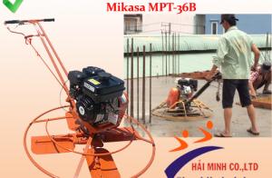 Đặc điểm nổi bật của máy xoa nền bê tông Mikasa MPT-36B