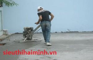 Một vài nét về máy xoa nền bê tông