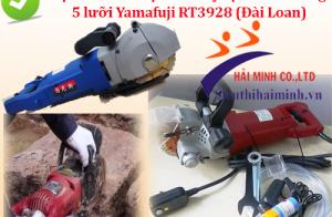 Đặc điểm nổi bật của máy tạo rãnh tường 5 lưỡi Yamafuji RT3928 (Đài Loan)