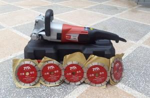 Quy trình kiểm tra và bảo dưỡng máy cắt rãnh tường đúng chuẩn