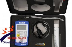 Máy đo độ dày vật liệu PCE-TG100 với đầu đo cảm biến 5 MHz (lên đến 400°C)