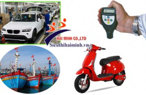Máy đo độ dày vật liệu - Dụng cụ không thể thiếu trong sản xuất ô tô, xe máy, đóng tàu,...!