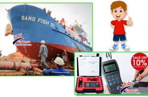 Máy đo độ dày kim loại MT 150 – Thiết bị kiểm định độ dày chính xác dùng cho công nghiệp đóng tàu!