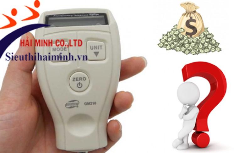 Giá máy đo độ dày vật liệu siêu âm bao nhiêu?