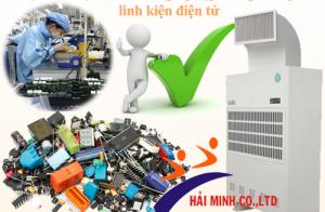 Lợi ích máy hút ẩm công nghiệp trong bảo quản linh kiện điện tử
