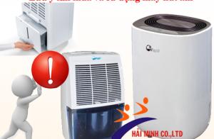 Lưu ý khi mua và sử dụng máy hút ẩm