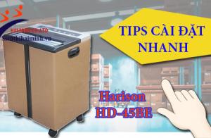 [Tips cài đặt nhanh] Máy hút ẩm Harison HD-45BE