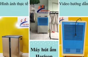 """Máy hút ẩm Harison: """"Hình ảnh thực tế"""" tại đại lý"""