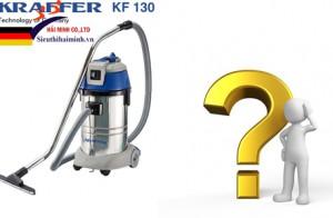 Có nên mua máy hút bụi công nghiệp khô ướt KRAFFER KF-130?