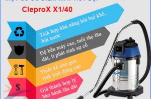 Những Cải Tiến Mới Của Máy Hút Bụi Khô Và Ướt CleproX