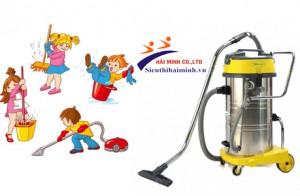 Cách sử dụng máy hút bụi công nghiệp Hiclean