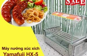 Kinh doanh đồ ăn vặt vào dịp tết cùng máy nướng xúc xích Yamafuji HX-5