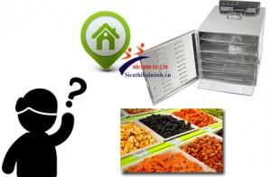 Tìm cửa hàng bán máy sấy thực phẩm Inox?