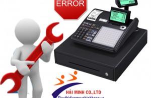 Lỗi hay gặp ở máy tính tiền Casio và cách xử lý