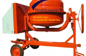 Các cách phân loại máy trộn bê tông phổ biến trong xây dựng