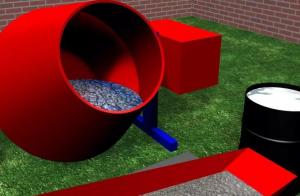6 bước trộn bê tông đơn giản bằng máy trộn bê tông