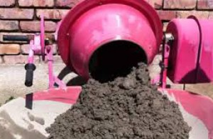 Cấu tạo của máy trộn bê tông kiểu nghiêng đổ