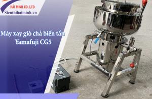 Hướng dẫn sử dụng máy xay giò chả biến tần Yamafuji CG5