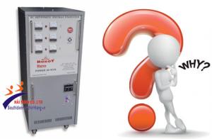[GIẢI ĐÁP] Tại sao máy ổn áp của tôi hiển thị lỗi 'H1'?
