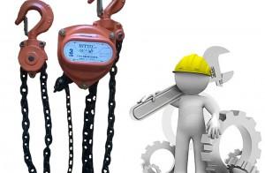 Kiểm tra và bảo dưỡng pa lăng xích kéo tay theo tiêu chuẩn