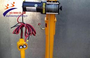 Cách lắp đặt nhanh máy tời điện mini