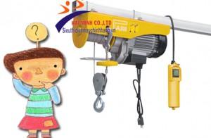 Nguyên tắc sử dụng máy tời điện treo mini là gì?