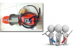 Các bước sử dụng máy tời điện Kio Đài Loan