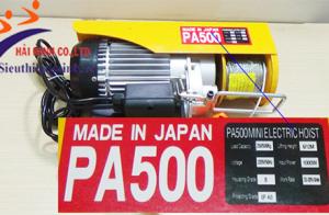 Bật mí 5 máy tời điện 500kg đáng mua nhất hiện nay