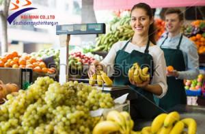 Vì sao siêu thị nên sử dụng cân điện tử in mã vạch?