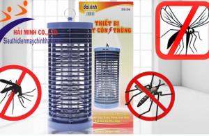 Giải đáp những thắc mắc về đèn bắt côn trùng