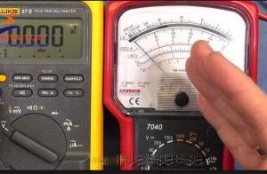 Hướng dẫn sử dụng đồng hồ đo điện vạn năng chỉ thị kim